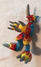 "2000 Bandai Digimon Action Feature Flamedramon 3"" Action Figure"