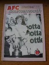 14/09/1982 Bournemouth v Plymouth Argyle [Football League Cup] . Item In very go