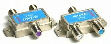 2 Holland DPD2 Diplexer Blue Dish Network Cable Signal Combiner VHF UHF Two lot