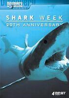 Shark Week - 20th Anniversary DVD 2007, 4-Disc Set Attack Jaws  Bull Great White