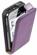 Ultra Slim Purple Leather case for Phone Samsung Galaxy Ace GT-S5830i / S5839i