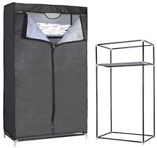 Armario de tela ropero estante lona ropa guardarropa closet 160x88x45cm OFERTA