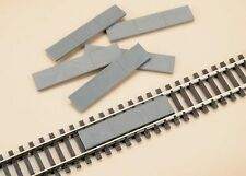AUHAGEN HO scale ~ CONCRETE TRACK FILLERS ~ model railway lineside #48603