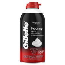 Gillette Foamy Shaving Cream, Regular  311 g (11 oz).