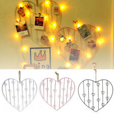 Hanging Heart Shaped Large Photo Frame Multi Picture Love Frames Decor Gift
