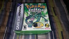 Pokemon Emerald Version Nintendo Game Boy Advance New Factory Sealed Big Box