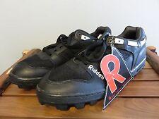 Vintage Riddell Red,White,Black Snug-Tie Baseball Cleats Shoes NWT 11.5 Mens