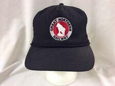 trucker hat baseball cap Great Northern Railway retro vintage train slide adjust