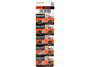 10 NEW LR44 MAXELL A76 L1154 AG13 357 SR44 303 BATTERY FREE SHIPPING FROM USA