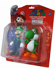 "Official Nintendo Super Mario And Yoshi Large 5"" Toy Figures"