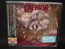 KREATOR Gods Of Violence + 1 JAPAN CD + DVD Tormentor Darkness Voodoocult