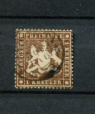 Wurtemberg nº 16x bien gezähnt, con sello (d1020)