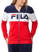 Fila Ladies' Velour Hooded Jacket (3 Colors)