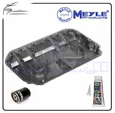 AUDI A4 A6 A8 80 2.6 2.8 ENGINE OIL SUMP PAN BY MEYLE & OIL FILTER & SEALER