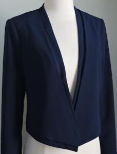 NWT WHITE HOUSE BLACK MARKET Blue Jacket Blazer 0, 4, 8, 10 or 14 $140.00