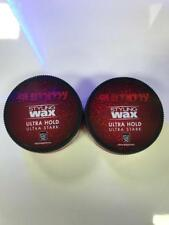 2 X 150ML FONEX GUMMY ULTRA HOLD STYLING HAIR WAX STRAWBERRY FREE P&P