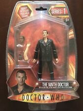 NEW - SERIES 1 - HIGHLY DETAILED POSABLE ACTION FIGURE - THE NINTH DOCTOR DR WHO
