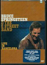 BRUCE SPRINGSTEEN LIVE IN BARCELONA + LOTS OF BONUS 2 Discs DVD SET NEW SEALED