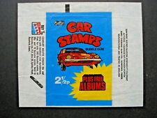 1971 A&BC *CAR STAMPS* WAX WRAPPER  HTF