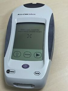 Roche Accu-Check Inform PDA PALM PILOT powered with Motorola Barcode Scanner