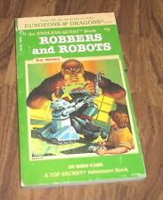 DUNGEONS AND DRAGONS AN ENDLESS QUEST BOOK #9 ROBBERS AND ROBOTS BY MIKE CARR