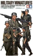 Tamiya 1/35 WWII German Machine Gun Crew # 35184