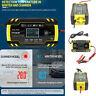 Cargador Batería Coche y Moto 12V 24V Cargador Mantenedor Automático AGM/GEL EU