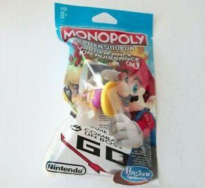 Monopoly Gamer Power Pack Wario Board Game Token Figure Rare Nintendo Hasbro