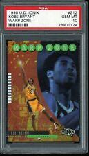 1998-99 Kobe Bryant Upper Deck UD Ionix Warp Speed (1:180) PSA 10 GEM MT