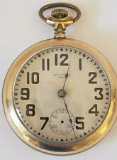 Antique Working Model 1883 WALTHAM Victorian Gents Gold Filled Pocket Watch 18s