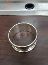 Sterling Silver Napkin Ring- (1951) BBS LD Birmingham- Superb Condition