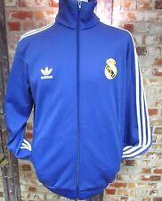 adidas Originals Real Madrid Retro Tracksuit Jacket in  Purple & White  Size L