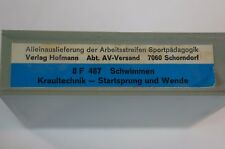 Super 8 Film S8 mm Schwimmen  FWU Lehrer Sportunterricht Sport 70er 487