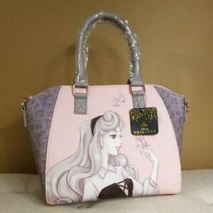 Loungefly Disney Sleeping Beauty Aurora Satchel Handbag NEW