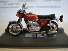 Honda CB 750 Four 1970 Red Brown Top Model 1:24