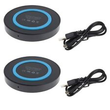 2x QI Wireless Charger Pad Mat For Samsung Galaxy S7 Active S8+ S6 edge+ Note 8