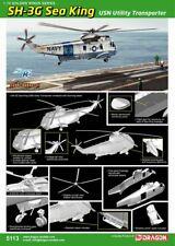 1/72 Cyber Hobby Sea King SH-3G USN Utility Transporter - Smart Kit #5113