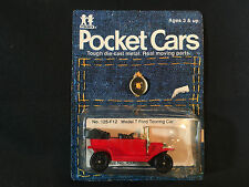 Tomy Tomica Red Pocket Car Model T Ford Touring Car 1977 Made In Japan