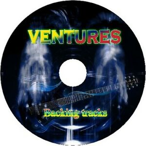 VENTURES GUITAR BACKING TRACKS CD BEST OF GREATEST HITS MP3 VERSION MUSIC