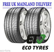 2X Tyres 255 35 ZR20 97Y XL Pirelli PZero (J) Jaguar E B 73dB