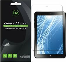 "3-Pack Dmax Armor Insignia 8"" Flex Tablet NS-P08A7100 HD Clear Screen Protector"