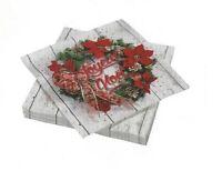 Serviette Joyeux Noël 40x40 (x20)