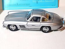 1954 MERCEDES-BENZ 300 SL SILVER GULLWING WITH BOX FRANKLIN MINT 1:24 eb-30