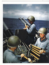 "*Postcard-""The 3 Soldiers Loading Up Artillary Weapons"" (B347)"