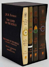 THE LORD OF THE RINGS J.R.R. Tolkien 4 Vol Set 60th Anniversary Edition New