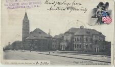 BALTIMORE Maryland First WE Church & Womans College GOUCHER USA Vintage PC 1901