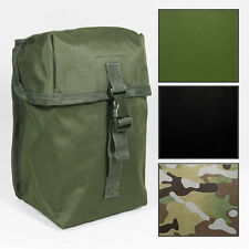 New LARGE MOLLE BELT UTILITY POUCH Tactical Airsoft Army Webbing - Colour Option