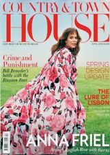 COUNTRY & TOWN HOUSE MAGAZINE APRIL 2018 ~ ANNA FRIEL COVER & INTERVIEW ~ NEW ~