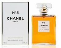 Chanel No 5 Perfume Women Spray 3.4 Oz / 100 Ml Brand New Sealed In Box