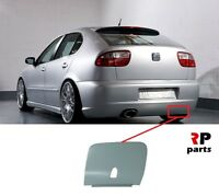 FOR SEAT LEON CUPRA /TOP SPORT 99-06 NEW GENUINE REAR BUMPER TOW HOOK EYE COVER